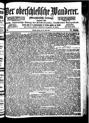 ˜Derœ Oberschlesische Wanderer vom 27.04.1900