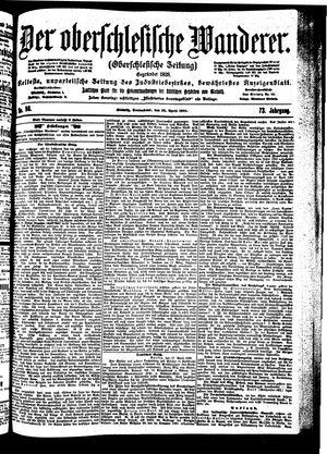 ˜Derœ Oberschlesische Wanderer vom 28.04.1900