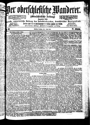 ˜Derœ Oberschlesische Wanderer vom 01.05.1900