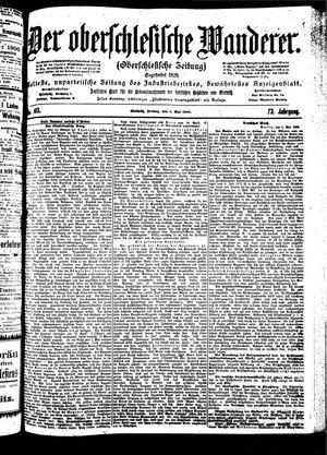 ˜Derœ Oberschlesische Wanderer vom 04.05.1900