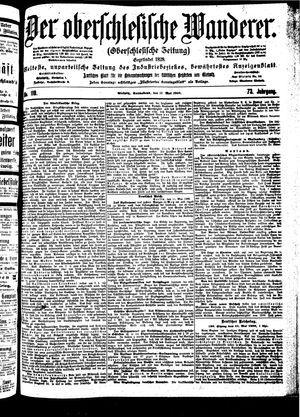 ˜Derœ Oberschlesische Wanderer vom 12.05.1900