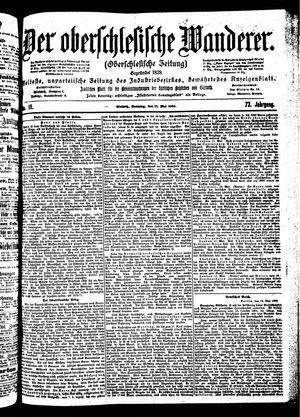 ˜Derœ Oberschlesische Wanderer vom 13.05.1900