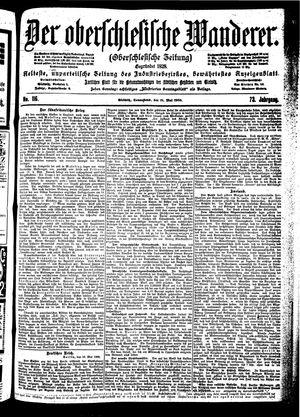 ˜Derœ Oberschlesische Wanderer vom 19.05.1900