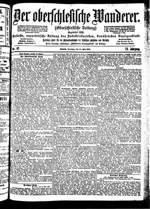 ˜Derœ Oberschlesische Wanderer vom 20.05.1900