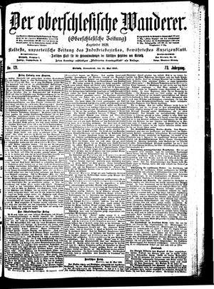˜Derœ Oberschlesische Wanderer vom 26.05.1900