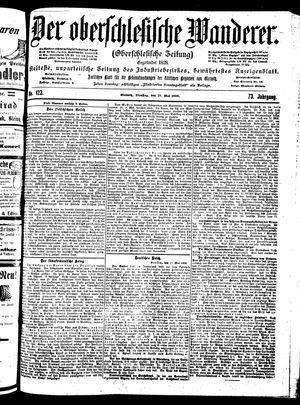 ˜Derœ Oberschlesische Wanderer vom 29.05.1900