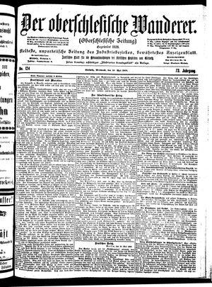 ˜Derœ Oberschlesische Wanderer vom 30.05.1900