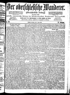 ˜Derœ Oberschlesische Wanderer vom 10.06.1900