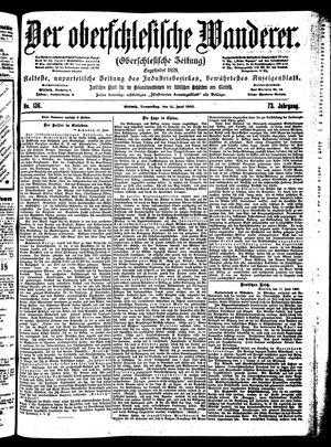 ˜Derœ Oberschlesische Wanderer vom 14.06.1900