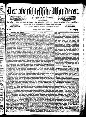 ˜Derœ Oberschlesische Wanderer vom 17.06.1900