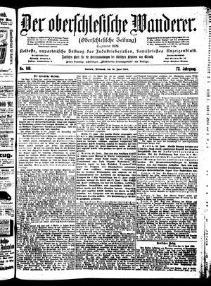 ˜Derœ Oberschlesische Wanderer vom 20.06.1900