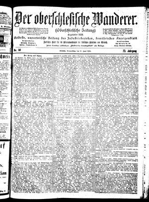 ˜Derœ Oberschlesische Wanderer vom 21.06.1900