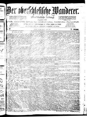 ˜Derœ Oberschlesische Wanderer vom 22.06.1900