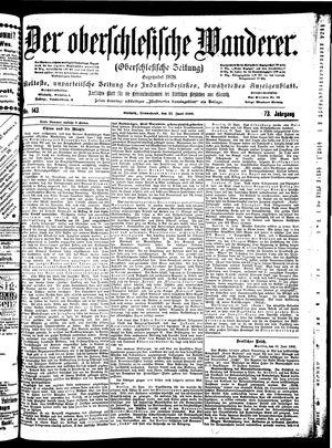 ˜Derœ Oberschlesische Wanderer vom 23.06.1900