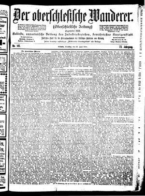 ˜Derœ Oberschlesische Wanderer vom 26.06.1900