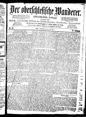 ˜Derœ Oberschlesische Wanderer vom 28.06.1900
