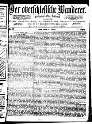 ˜Derœ Oberschlesische Wanderer vom 01.07.1900