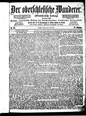 ˜Derœ Oberschlesische Wanderer vom 03.07.1900
