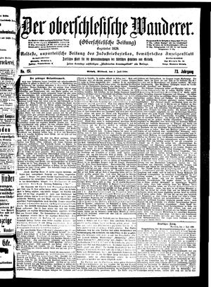 ˜Derœ Oberschlesische Wanderer vom 04.07.1900
