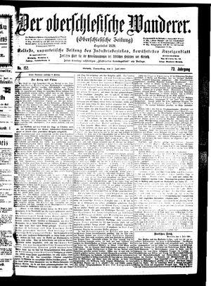 ˜Derœ Oberschlesische Wanderer vom 05.07.1900