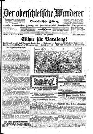 ˜Derœ Oberschlesische Wanderer on Jan 16, 1916
