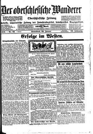 ˜Derœ Oberschlesische Wanderer on Jan 29, 1916