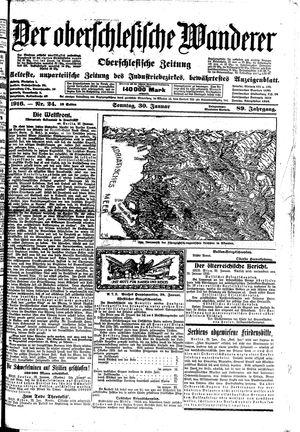 ˜Derœ Oberschlesische Wanderer vom 30.01.1916