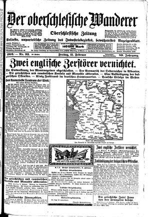 ˜Derœ Oberschlesische Wanderer vom 11.02.1916