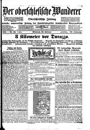 ˜Derœ Oberschlesische Wanderer on Feb 23, 1916