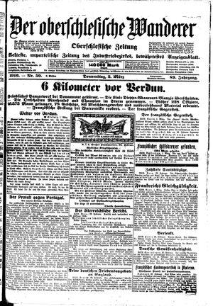˜Derœ Oberschlesische Wanderer vom 02.03.1916