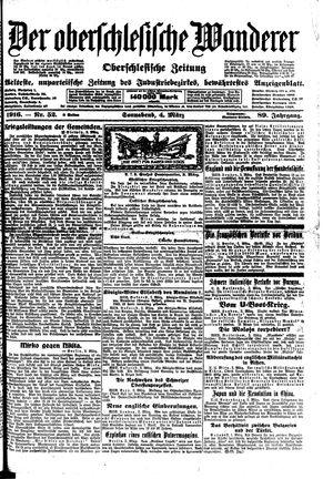 ˜Derœ Oberschlesische Wanderer vom 04.03.1916