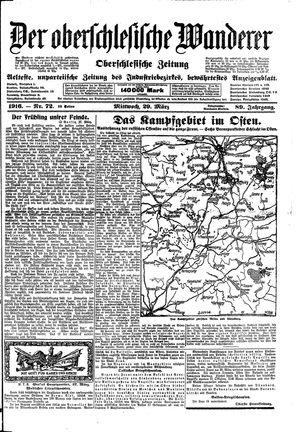 ˜Derœ Oberschlesische Wanderer vom 29.03.1916