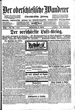 ˜Derœ Oberschlesische Wanderer vom 06.04.1916