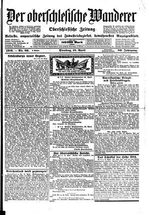 ˜Derœ Oberschlesische Wanderer on Apr 18, 1916