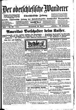 ˜Derœ Oberschlesische Wanderer on Apr 29, 1916