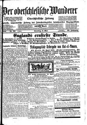 ˜Derœ Oberschlesische Wanderer vom 02.05.1916