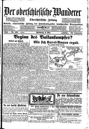 ˜Derœ Oberschlesische Wanderer vom 03.05.1916