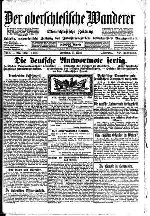 ˜Derœ Oberschlesische Wanderer vom 05.05.1916