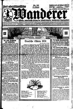 ˜Derœ Oberschlesische Wanderer on Apr 19, 1924