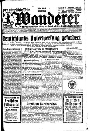 ˜Derœ Oberschlesische Wanderer on May 3, 1924