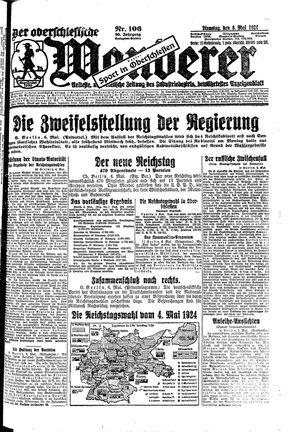 ˜Derœ Oberschlesische Wanderer vom 06.05.1924