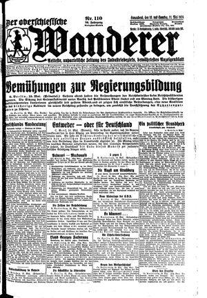 ˜Derœ Oberschlesische Wanderer vom 10.05.1924