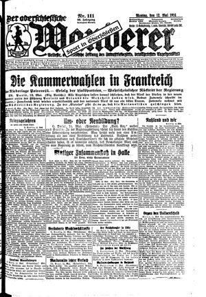 ˜Derœ Oberschlesische Wanderer vom 12.05.1924