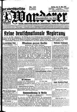 ˜Derœ Oberschlesische Wanderer on May 16, 1924