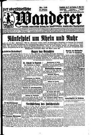 ˜Derœ Oberschlesische Wanderer vom 17.05.1924