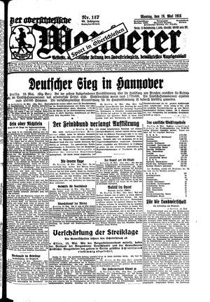 ˜Derœ Oberschlesische Wanderer vom 19.05.1924