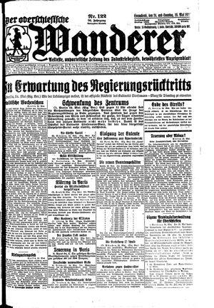 ˜Derœ Oberschlesische Wanderer vom 24.05.1924