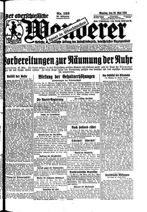 ˜Derœ Oberschlesische Wanderer vom 26.05.1924