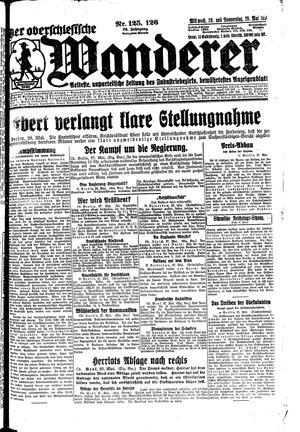 ˜Derœ Oberschlesische Wanderer vom 28.05.1924