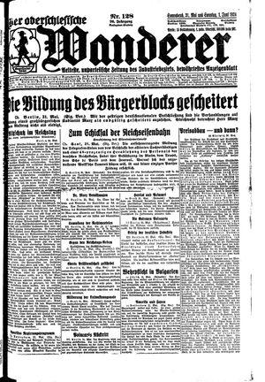 ˜Derœ Oberschlesische Wanderer vom 31.05.1924